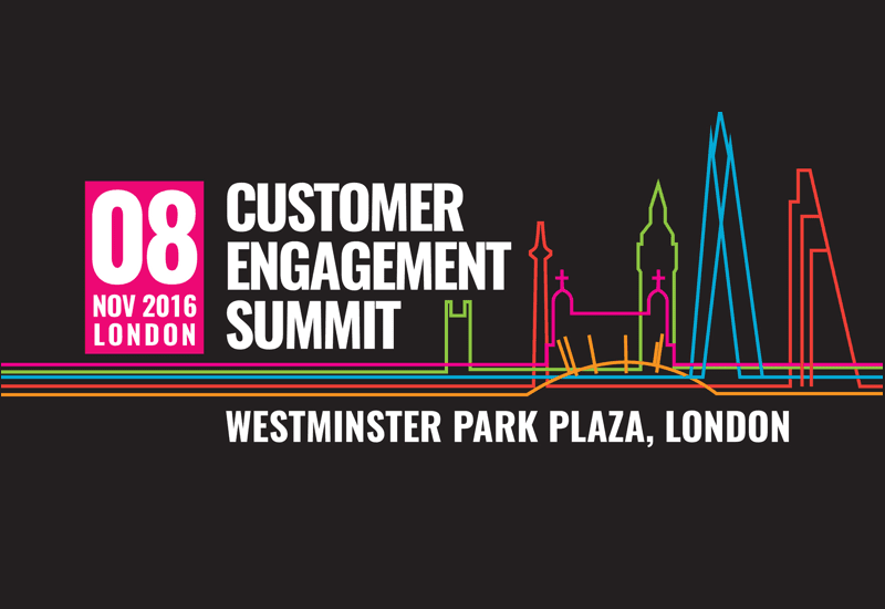 Customer Engagement Summit, which takes place in London on November 8th, 2016 at the Westminster Park Plaza.